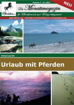 Pferdchen.org Monatsmagazin Ausgabe 3 - Mai 2012