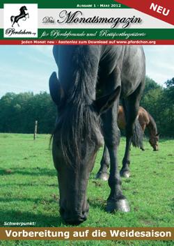 Brandneu: Unser Pferdchen.org Magazin zum Herunterladen